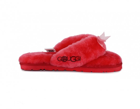 Abella Slipper Red