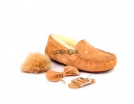 Ugg Dakota New Pom Chestnut
