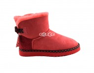 Mini Bailey Bow Red 78