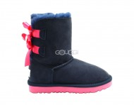 Kids Bailey Bow Navy (Pink Stole)
