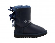 Kids Bailey Bow Navy (Black Stole)
