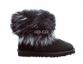 Mini Fox Fur Black II
