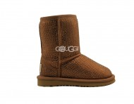 Kids UGG Classic Serein II Gold