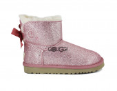 Mini Bailey Bow Sparkle Boot Pink