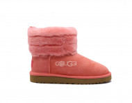 Mini Fluff Quilted Boot - Lantana