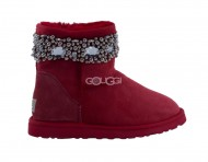 Jimmy Choo Multi Crystals Red