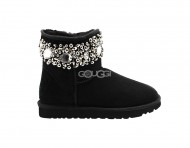 Jimmy Choo Multi Crystals Black